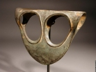 "Canaanite bronze ""Eye Glasses"" battle axe."